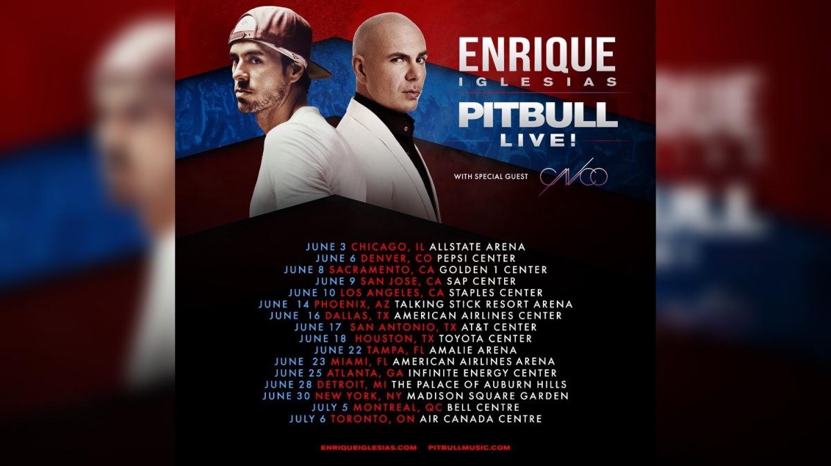 Pitbull And Enrique Iglesias Tour Sacramento